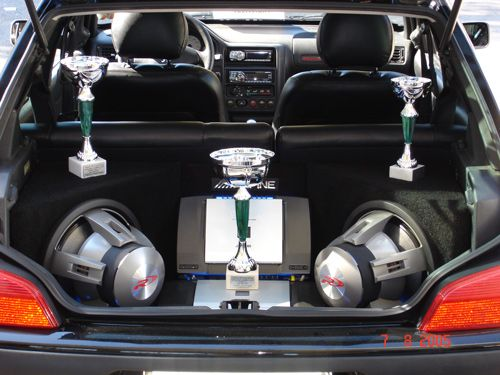 Custom Interior Design Trunk Speakers Award Winning Car Sounds