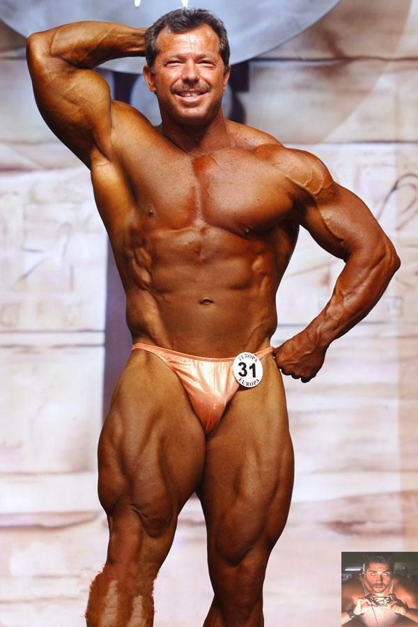 Mature bodybuilder men very valuable