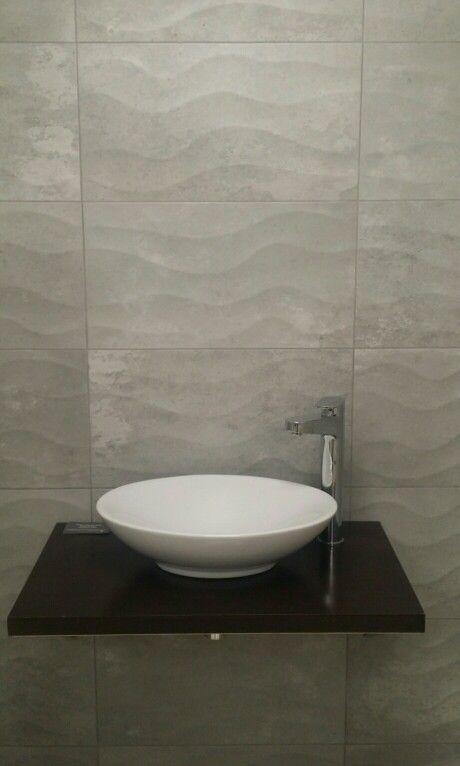 Bathroom Cement Grey Wave Tile Porcelain Wall Tile Cement Bathroom Tiles