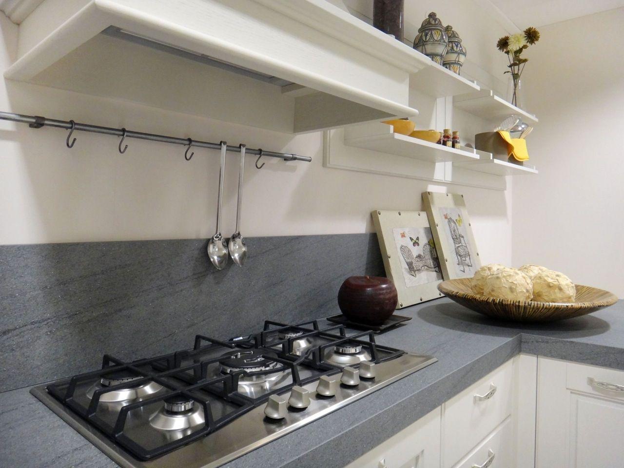 Cucina Moderna Bianca Con Top Grigio.Risultati Immagini Per Cucina Bianca Top Grigio Cucine