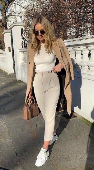 Outfit en blanco: un look ligero y cómodo - KENA