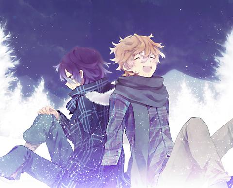 Natsuno and Tohru best friends Shiki, Anime angel, Chibi