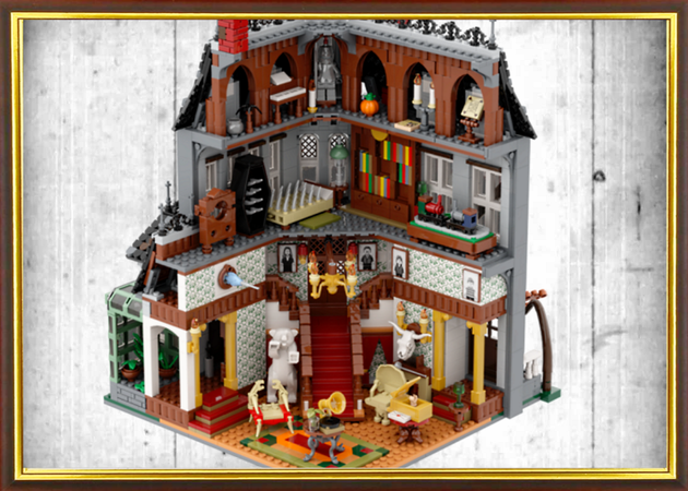 The Addams Family Mystery Mansion Mansions Addams Family The Addams Family 1964