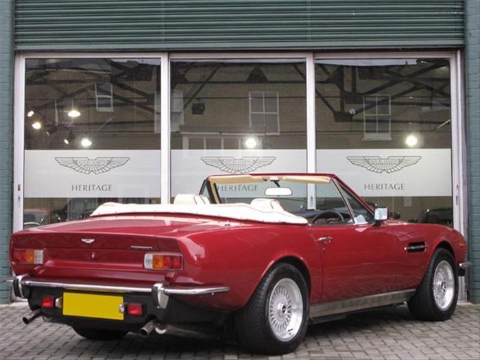 1986 Aston Martin V-8 2-Dr Fastback Coupe