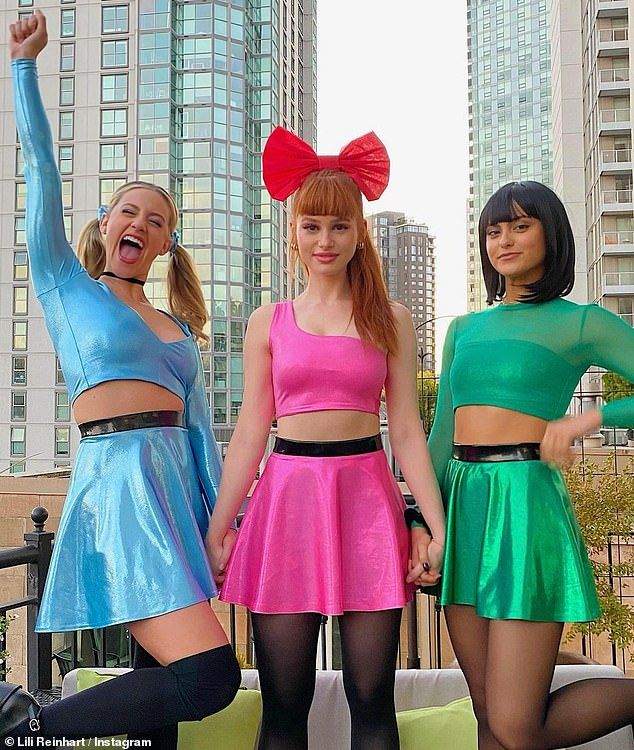 Lili Reinhart joins Riverdale costars for Powerpuf
