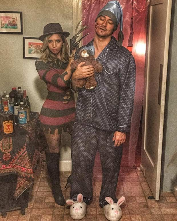 31 Creative Couples Costumes for Halloween Couple halloween - couples funny halloween costume ideas