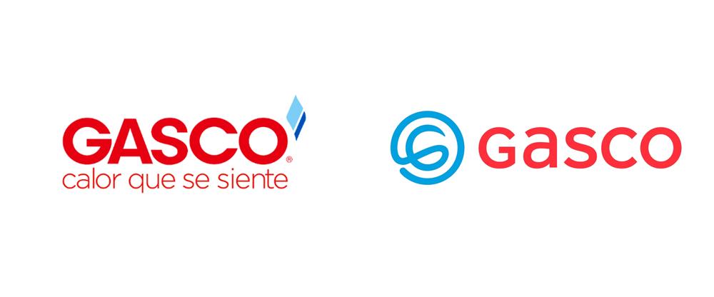 New Logo For Gasco Logos Logo Redesign Company Logo