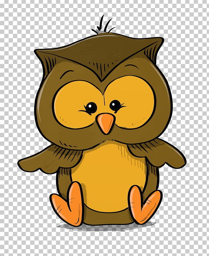 Owl Cartoon Drawing PNG - baby, barn owl, beak, bird, bird ...