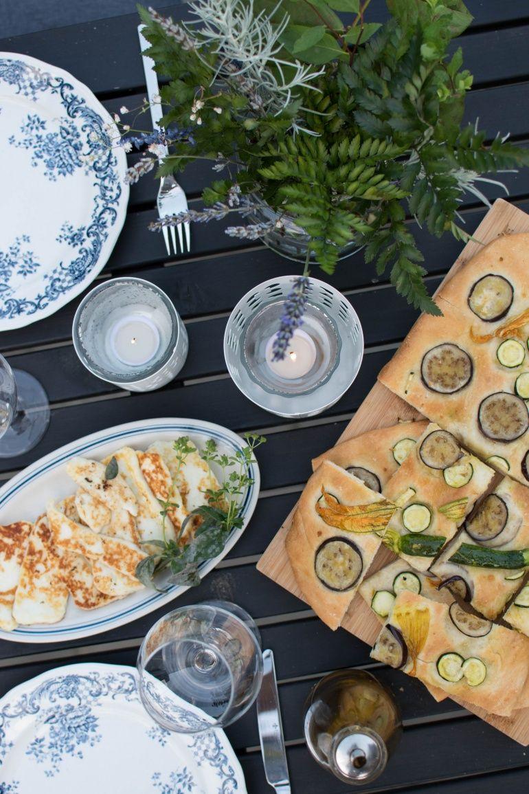 Focaccia Z Cukinią I Bakłażanem Kuchnia Agaty