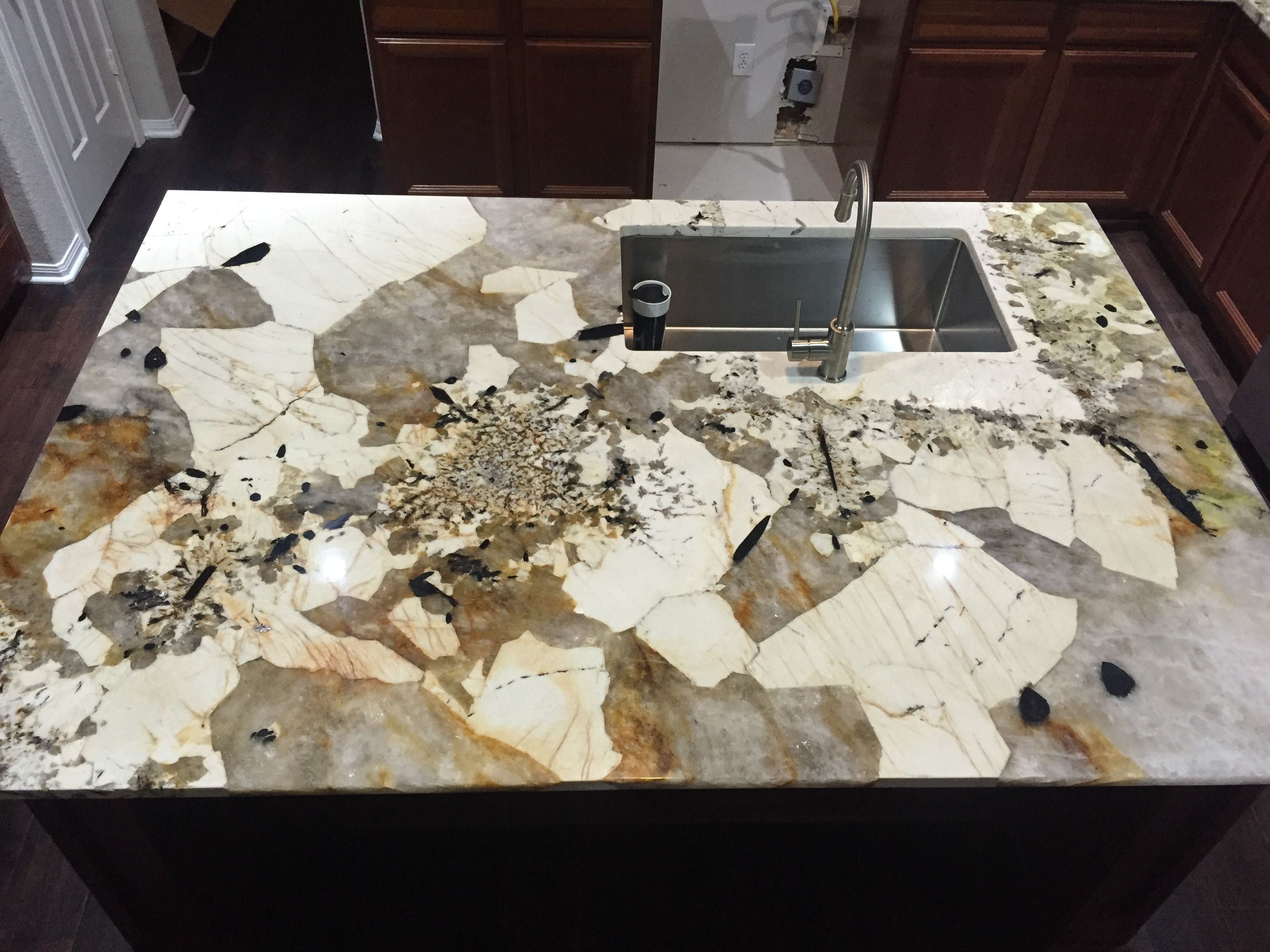 Granite Kitchen And Bath Tucson Beautiful Material Resulted In A Beautiful Kitchen Island