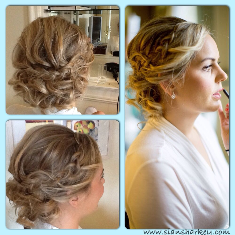 bridal #hairstyle #upstyle #wedding siansharkey | wedding