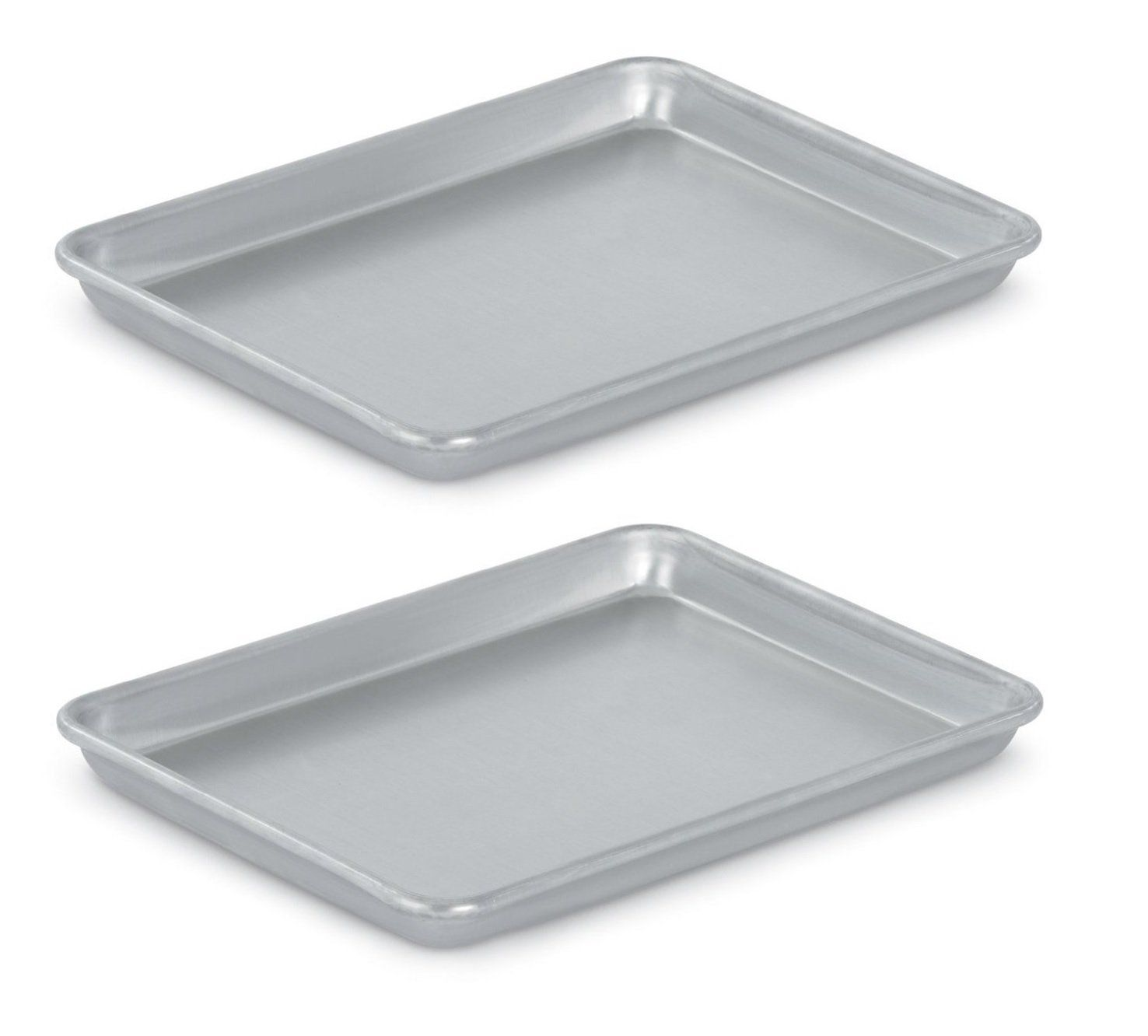 Vollrath 5220 Wear Ever Collection Quarter Size Sheet Pans Set Of 2 9 1 2 Inch X 13 Inch Aluminum Read Mor Baking Pans Sheet Pan Kids Baking Supplies