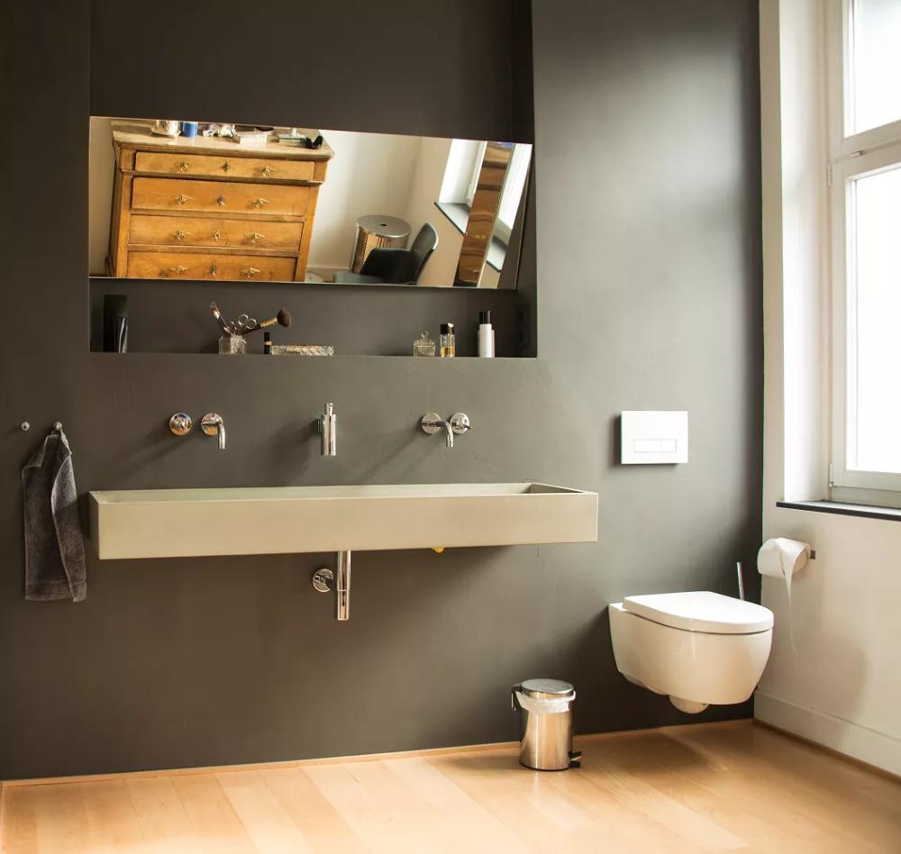 Beton Cire Im Badezimmer 5 Punkte Die Zu Beachten Sind In 2020 Mit Bildern