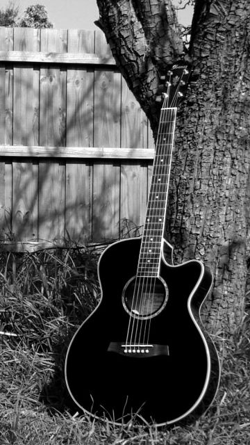 Download Playing Guitar Wallpaper For Nokia 5233 Acoustic Guitar Photography Music Wallpaper Guitar Photography
