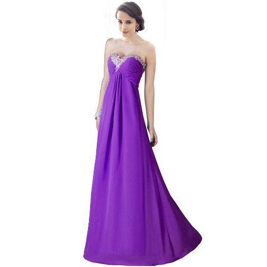 Fashion Plaza Strapless Bridesmaids Evening Dresses