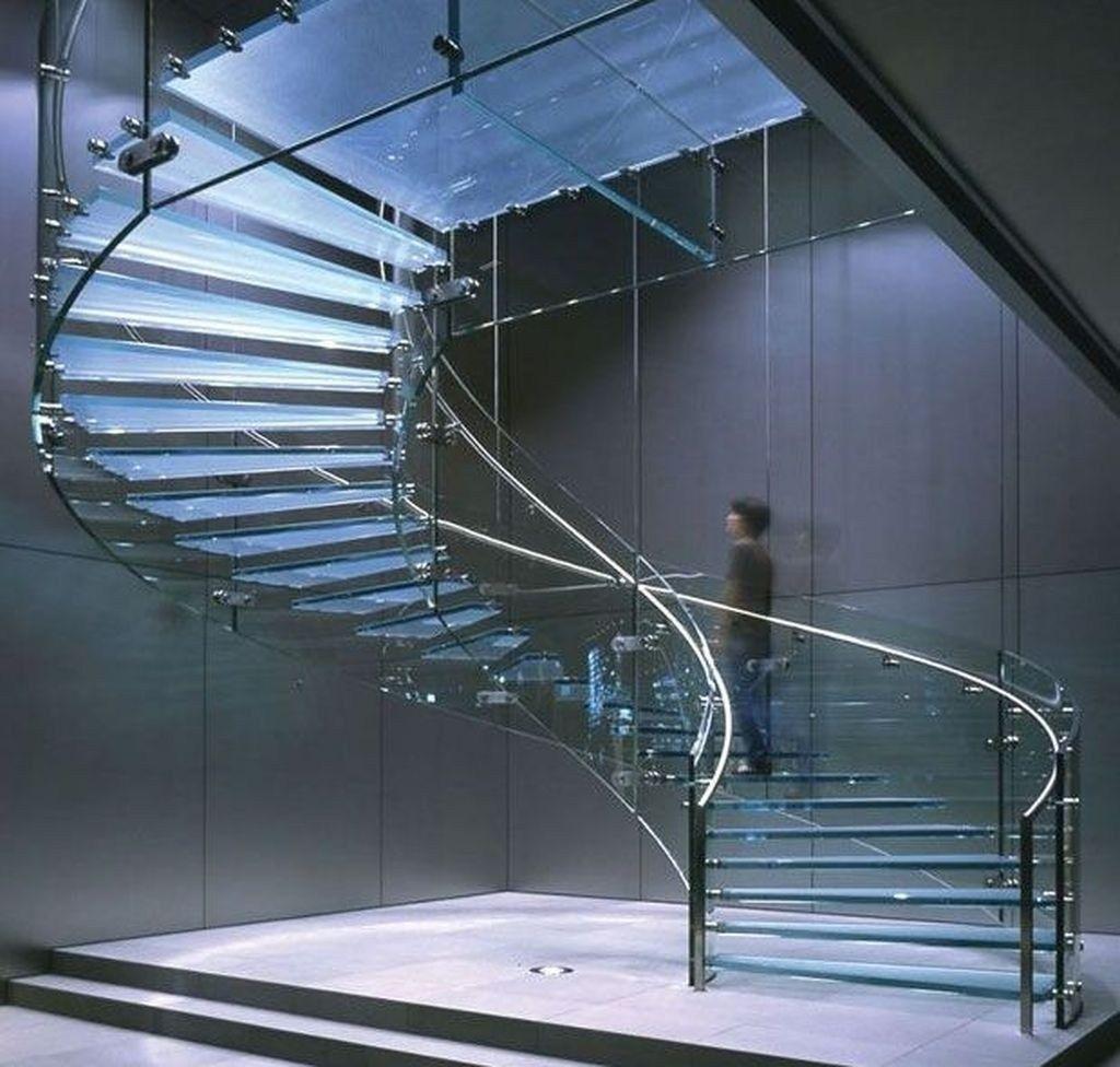 Best 48 Inspiring Modern Staircase Design Ideas Spiral Stairs 400 x 300