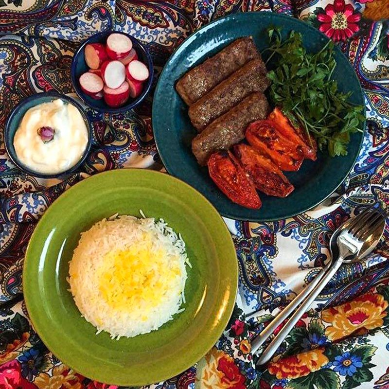 Keuken-land In Iran, The Dinner Spread Serves More Than Just Dinner