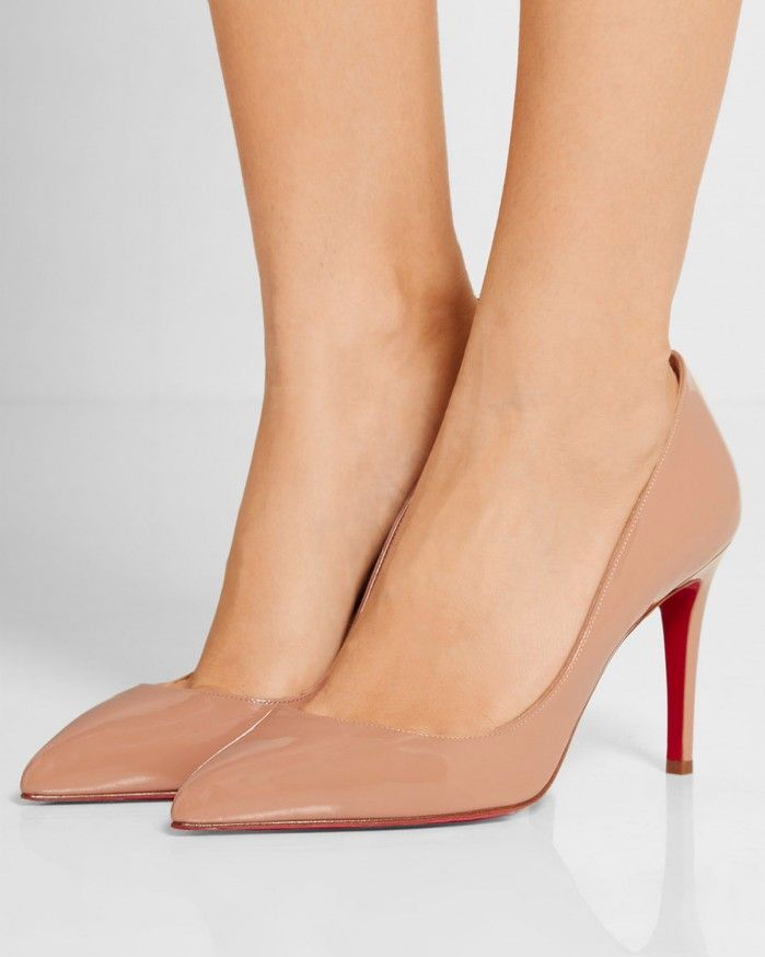 b94b2c947f95 CHRISTIAN LOUBOUTIN Pigalle 85 patent-leather pumps - Shoes Post