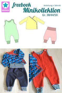 Photo of Minikollektion – Kleidung für Frühchen, Kreativ-FREEbook