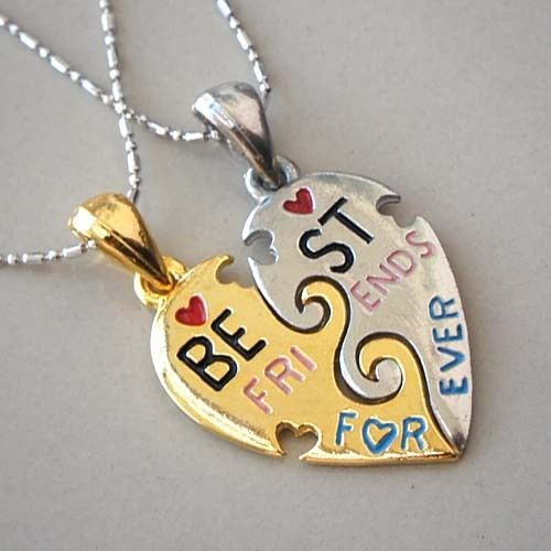 Best Friends Forever Necklaces Best Friend Necklaces Best