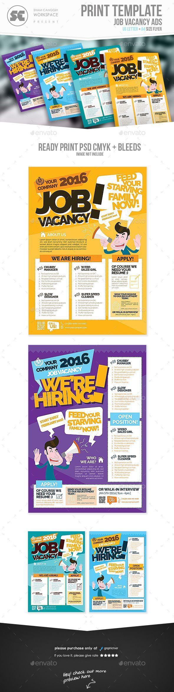 Job Fence - Job Search Engine | Recruitment poster design ...