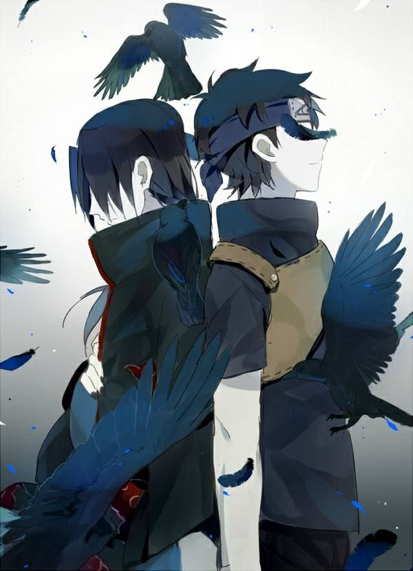 Itachi And Shisui Uchiha Arte De Naruto Naruto Anime Personajes De Naruto