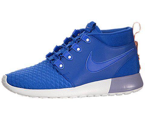 a3a61d5b28976 Nike Mens Roshe Run Sneakerboot Game RoyalAtomic Orange Running Shoe ...