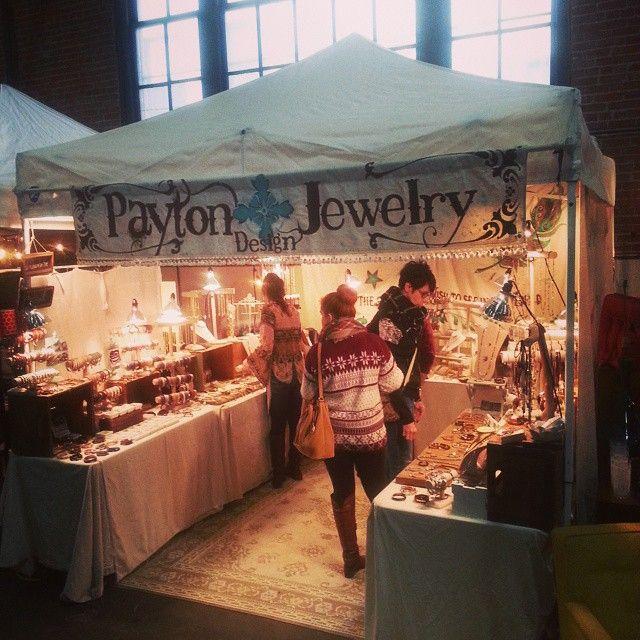 #clovermarket #craftshow #leatherjewelry  #market