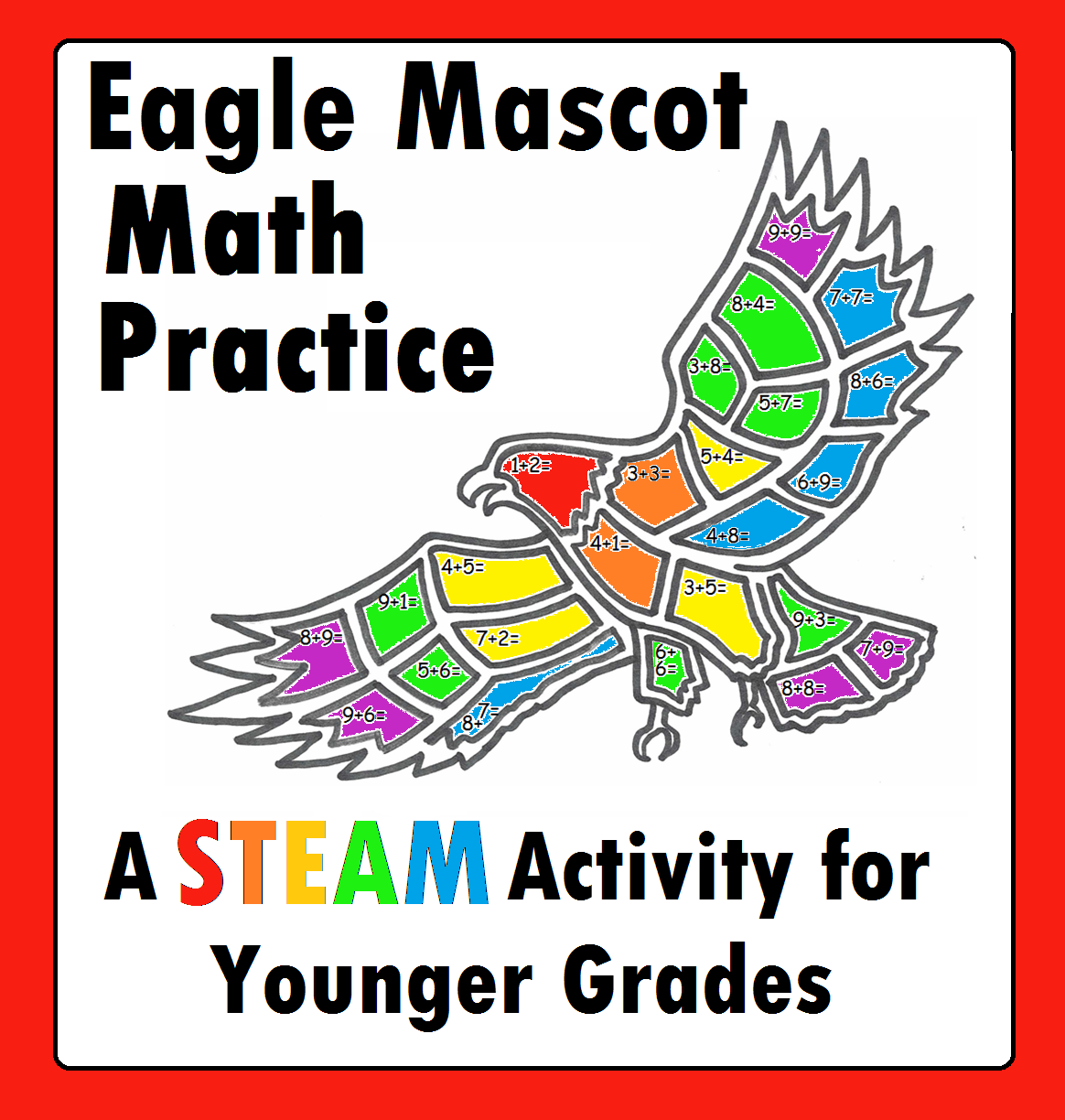 Eagle Hawk Addition Math Practice Stem Steam For Younger