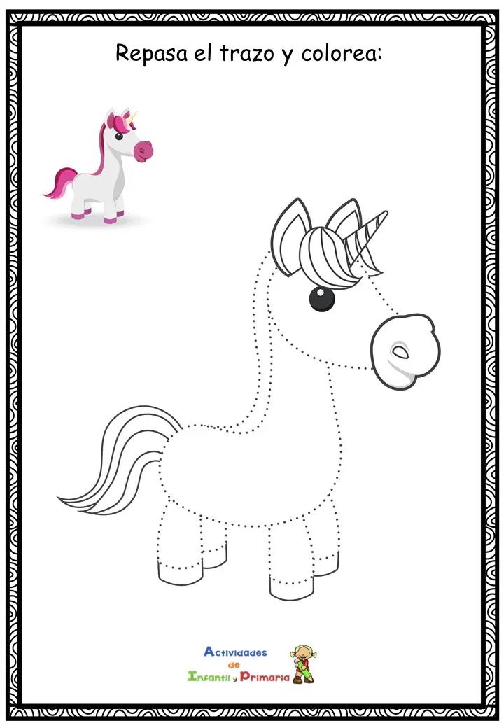 Coleccion De Dibujos Para Repasar El Trazo Y Colorear Dibujos Decoracion Preescolar Dibujos Faciles
