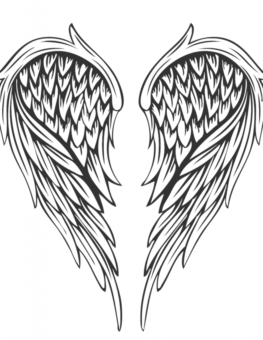 Tattoo Coloring Pages For Adults Best Coloring Pages For Kids Wings Tattoo Angel Wings Tattoo Tattoo Coloring Book