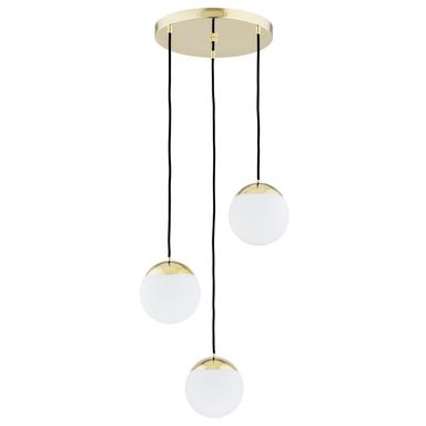 Lampa Wiszaca Livia Ip22 Bialo Zlota E27 Prezent Lampy Sufitowe Zyrandole Plafony W Atrakcyjnej Cenie W Sklepach Leroy Ceiling Lights Pendant Light Lamp