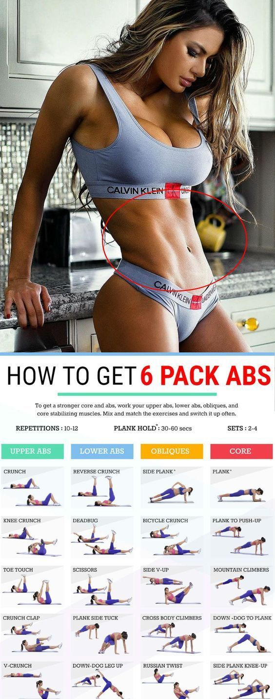 6 Standing Abs Exercises For A Sexy Six-Pack And Slender Body Sculpt – GymGuider.com