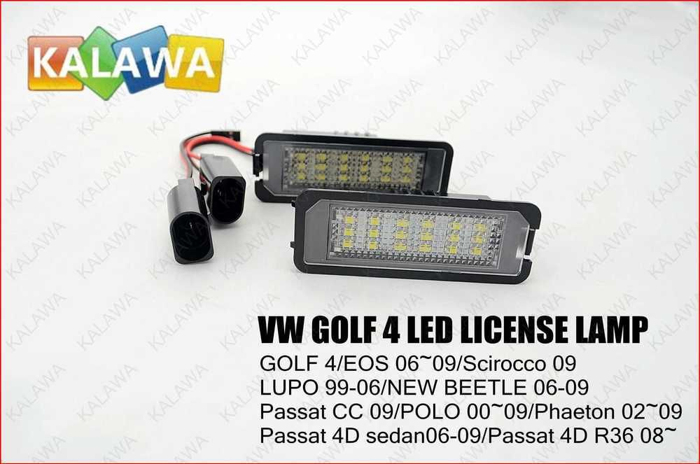 Car Led License Plate Lamp Led License Plate Frame Case For Vw Lupo 99 06 No 21 Not Canbus Type Ggg Freeshipping Car Led Passat Cc License Plate