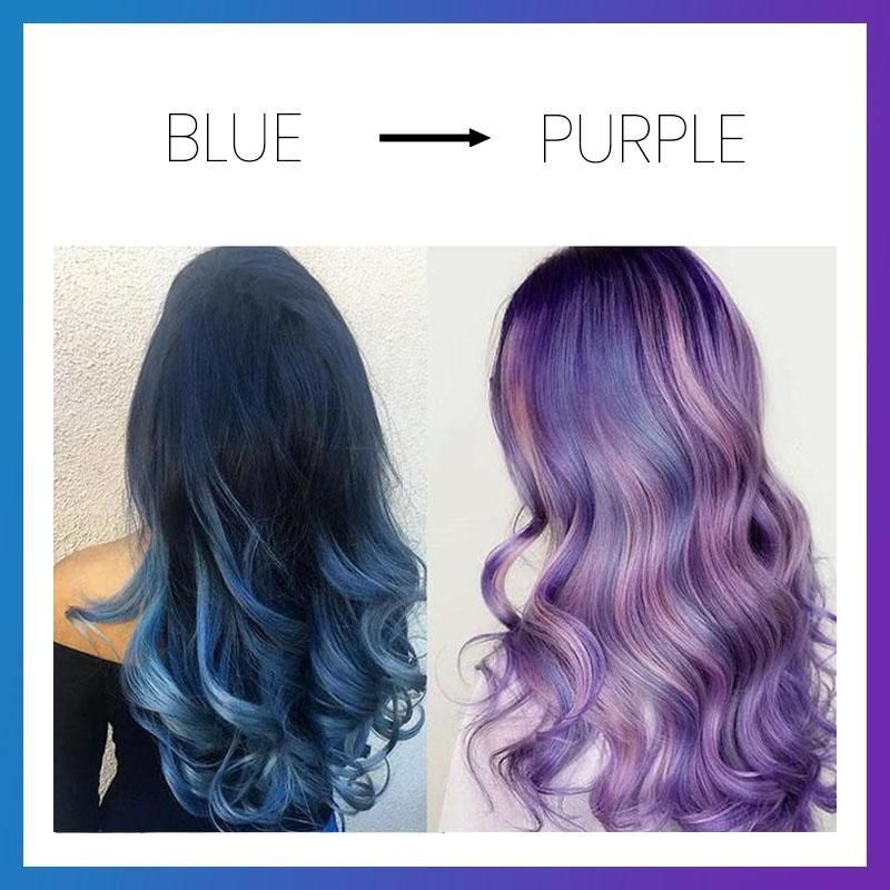 Color changing hair dye in 2020 with images dyed hair