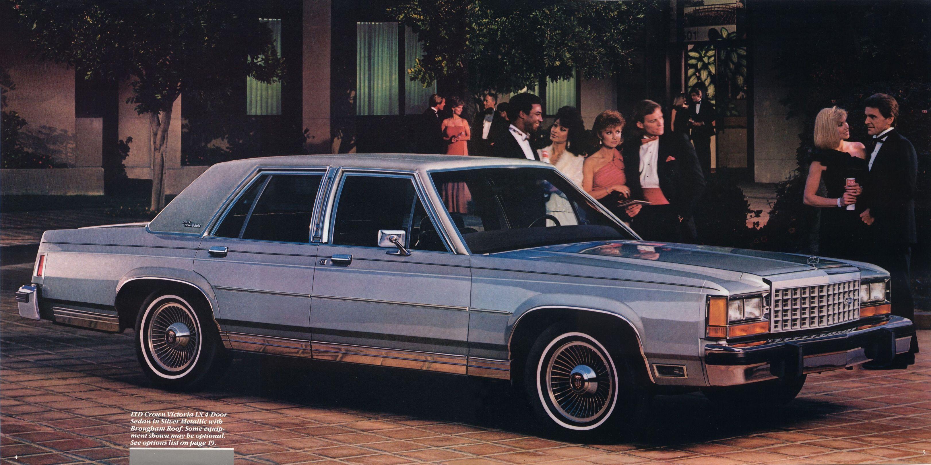 Ford Ltd Crown Victoria Lx Door Sedan When America Needs