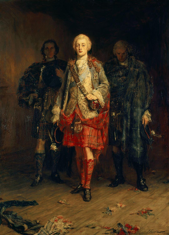 Bonnie Prince Charlie (1892) John Pettie