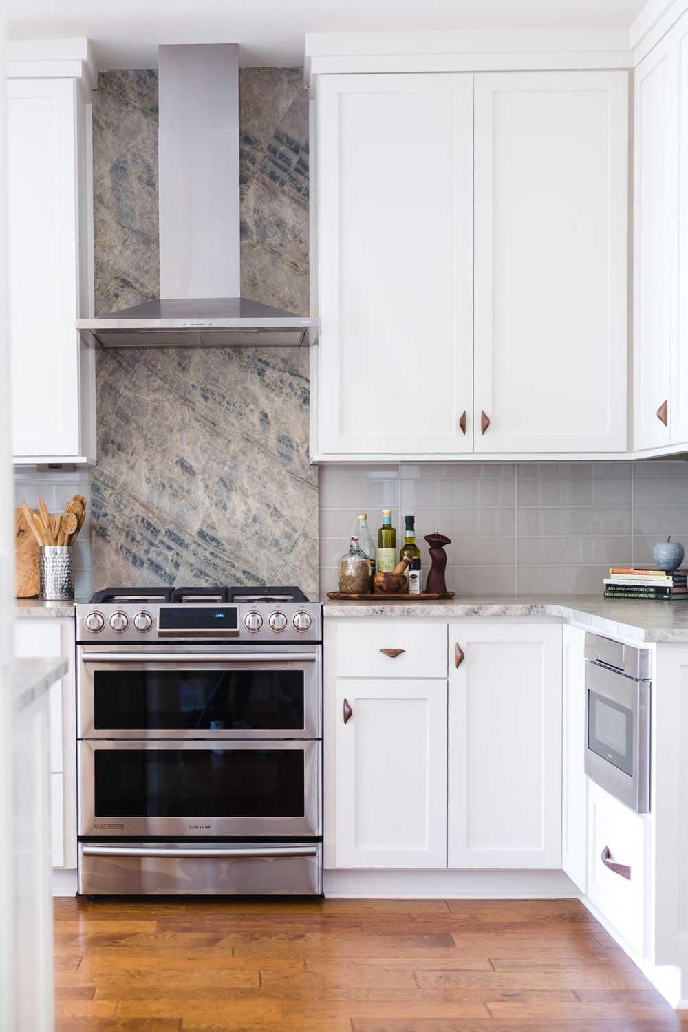 BEFORE AND AFTER - An Ordinary Kitchen Gets A Modern Remodel ...