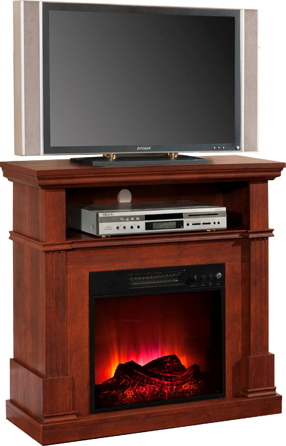 Electric Entertainment Center Fireplace Warm Entertainment From