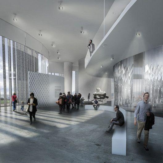 Seis propuestas para el Museo Nacional de la Memoria en Colombia,Sala de exposición. Image Cortesía de Célula Arquitectura
