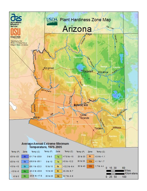 The hardiness maps show A for zones. I'm in zone 9b. (//www ... on