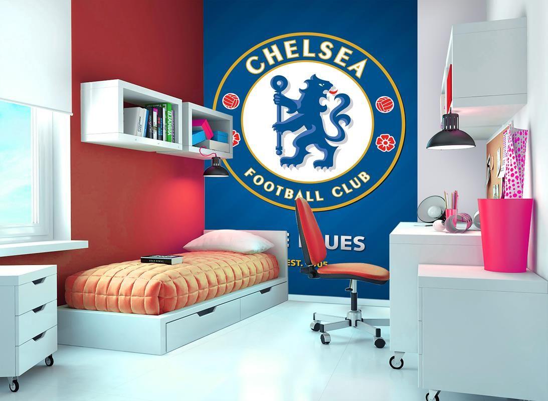 Chelsea Football Mural Wallpaper Children Home Decor