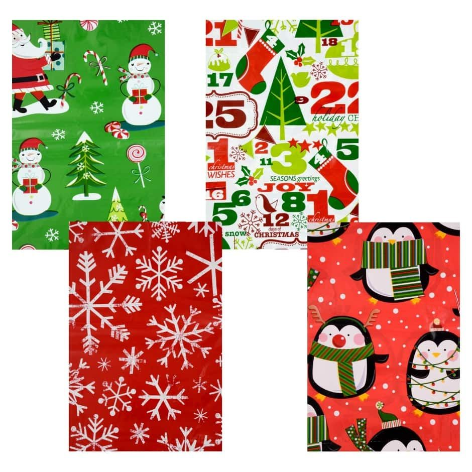 Christmas House Bike Bags, 60x72 in Christmas house