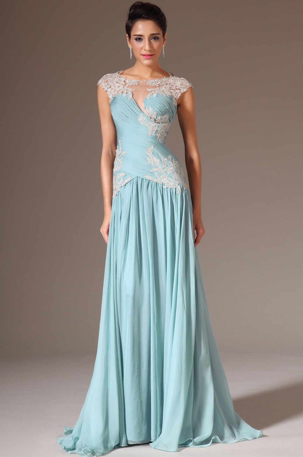 Elegant Long Formal Party Prom Gown Pageant Dress Celebrity ...