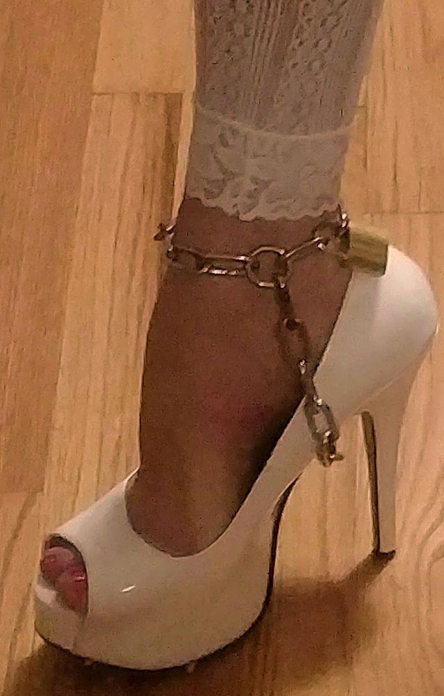 Chains High Heel Bondage