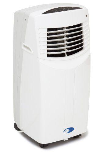 Whynter 8 000 Btu Eco Friendly Portable Air Conditioner White Arc 08wb Portable Air Conditioner Air Conditioner Indoor Air Conditioner