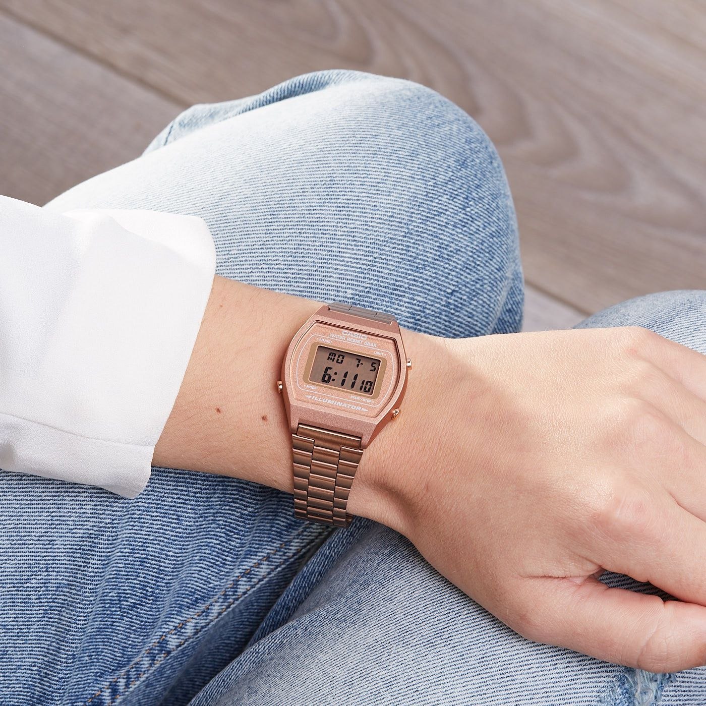 Đồng hồ nữ  Casio B640WC-5ADF