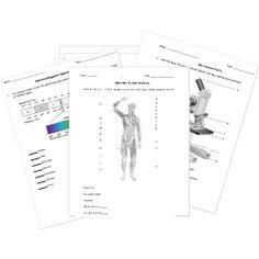 Printable/Online High School and AP Science Worksheets