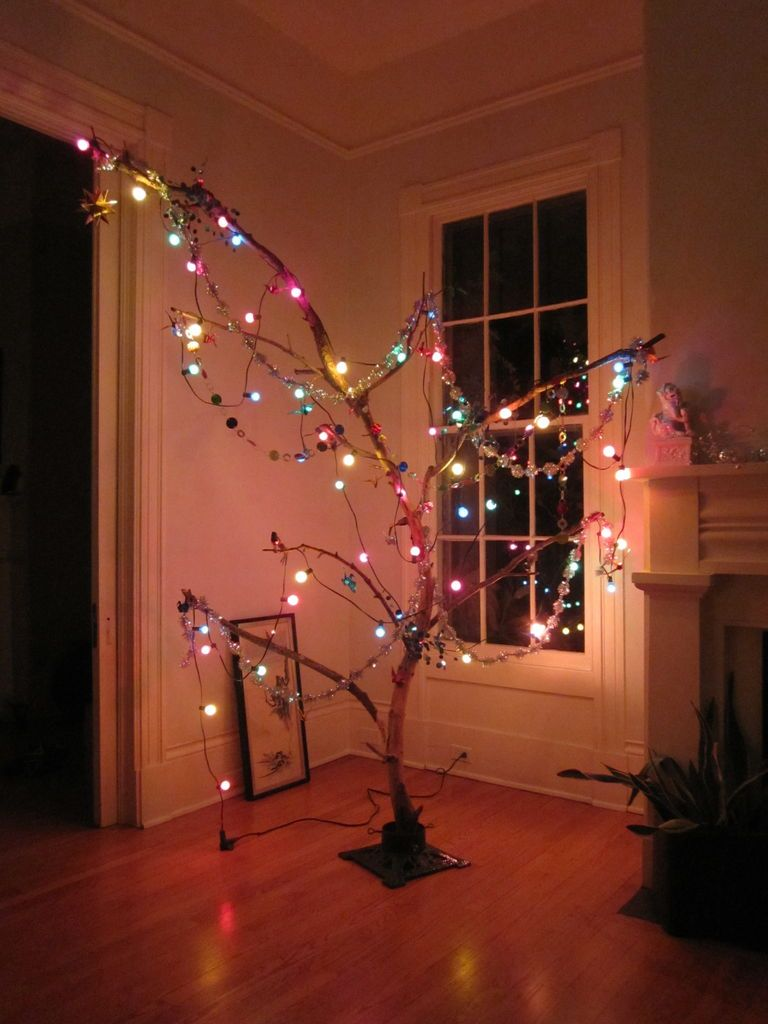 Branch Christmas Tree alternative christmas tree   christmas trees, alternative