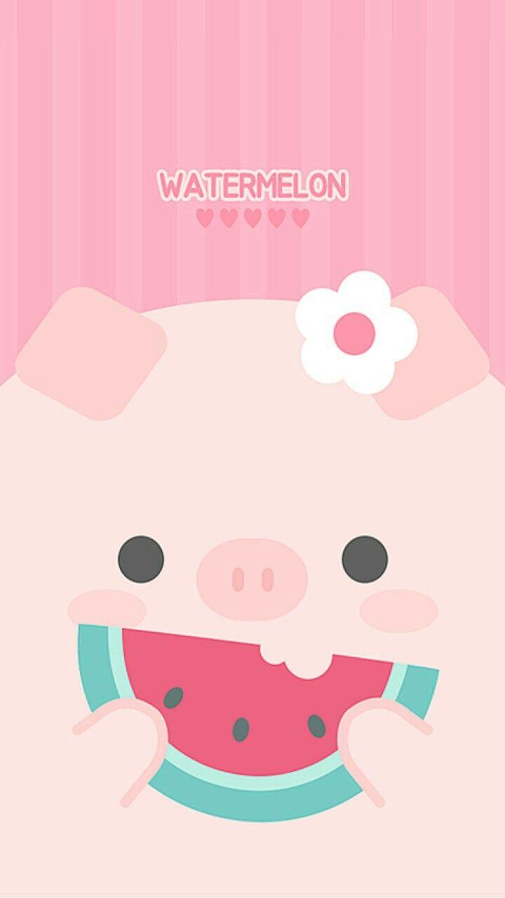 Pin By Maria Valencia Obando On Cute Pig Wallpaper Cute Pigs Pig Illustration